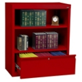 "Bookcase with File Drawer 36"" High, 32167"