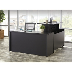 Adjustable Height L-Desk, 14535