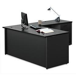 """Compact L-Desk - 60""""W, 14774"""