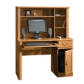 Compact Computer Desk with Hutch, 13528S