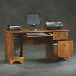 "Contemporary Computer Desk - 59""W x 23""D, 13529"
