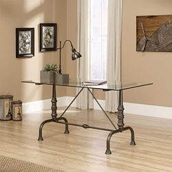 "Glass Top Desk - 60""W, 14892"