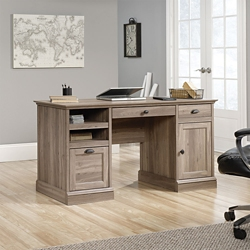 "Double Pedestal Desk - 59""W, 14889"