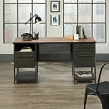 """Executive Desk with Perforated Metal Panels - 60""""W x 24""""D, 220202"""