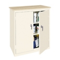 "Hetfield Three Shelf Counter High Cabinet with Plastic Laminate Top - 37""W, 37109"
