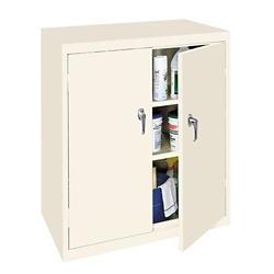 "Hetfield Three Shelf Counter High Cabinet - 36""W, 37108"