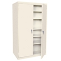"Hetfield Six Shelf Storage Cabinet - 42""W x 18""D x 72""H, 37105"
