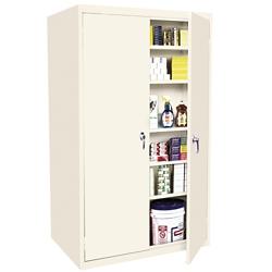 """Hetfield Six Shelf Storage Cabinet - 36""""W x 24""""D x 78""""H, 37101"""