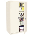 "Hetfield Six Shelf Storage Cabinet - 36""W x 24""D x 78""H, 37101"