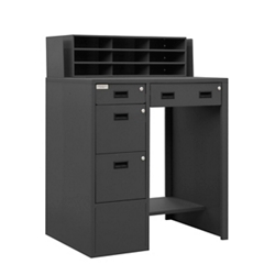 """Standing Height Workstation - 39""""W x 29""""D, 10373"""