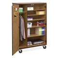 Mobile Teachers Wardrobe Cabinet , 36273