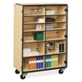 Mobile Split Shelf Storage Cabinet, 36275