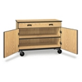 "Single Drawer Mobile Storage Cabinet - 36""H, 36278"