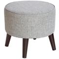 Hand-Upholstered Ottoman, 220101