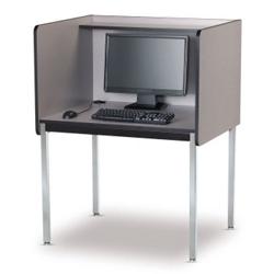 Fixed Height Starter Computer Carrel, 13740