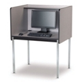 Fixed Height Starter Computer Carrel, 13740