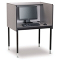 Adjustable Height Starter Computer Carrel, 13742
