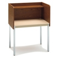 Fixed Height Modular Carrel- Starter, 13749