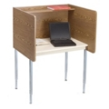 Adjustable Height Privacy Carrel- Starter, 13759