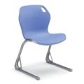 Modern Plastic Cantilever Base Stack Chair, 51514