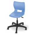Adjustable Poly Chair with Casters, 57060