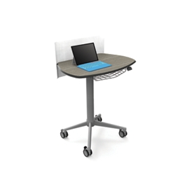 Height Adjustable Sit Stand Teacher Lectern, 220246