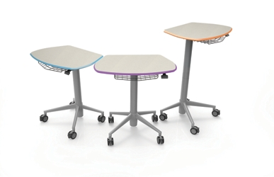 Height Adjustable Sit Stand Student Desk, 220247