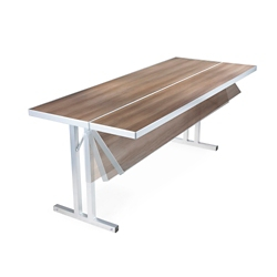 "Flip Top Seminar Table - 72""W x 30""D, 44383"