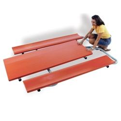 Foldable Aluminum Picnic Table - 6 ft, 85815