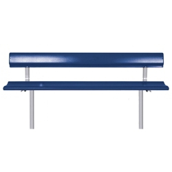Mounted Bench with Backrest - 8 ft, 85828