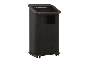 "Carpeted Floor Lectern - 48""H, 43466"