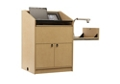 "One Bay Multimedia Lectern - 48""H, 43472"