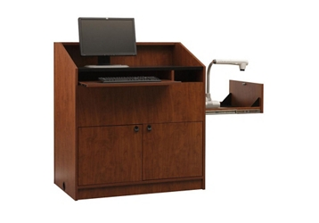 "Two Bay Multimedia Lectern - 48""H, 43473"