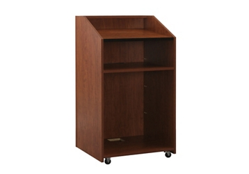 "Floor Lectern With Shelf - 48""H, 43474"