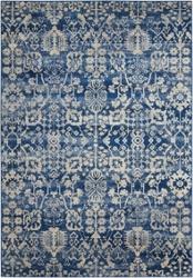 "Floral Tribal Print Area Rug 3'6""W x 5'6""D, 91626"