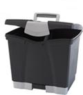 "Portable Letter-Sized File Box - 14""W, 37181"