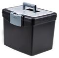 "Letter Sized Portable File Box - 13""W, 37184"
