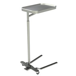 Height Adjustable Mayo Instrument Stand with Removable Tray, 26471