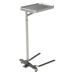 Height Adjustable Mayo Instrument Stand with Removable Tray, 26472