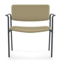 Bariatric Vinyl Guest Chair with Arms, 25902