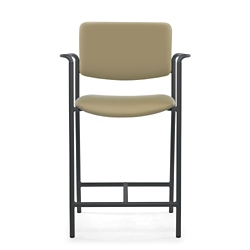 Guest Vinyl Hip Chair with Arms, 25903