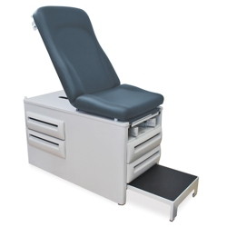 Exam Table with Stirrups and Four Drawers, 25953