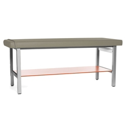 H Brace Treatment Table with Drip-Edge and Shelf , 25955