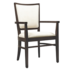 Dining Chair with Curved Back Legs, 26218