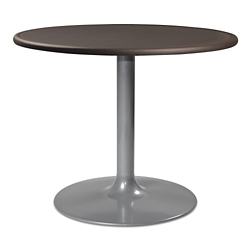"Trumpet Base Dining Table with Bullnose Edging - 36""W , 41979"