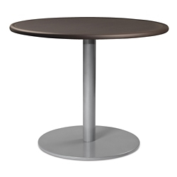 "Disc Base Dining Table with Bullnose Edging - 36""W , 41983"