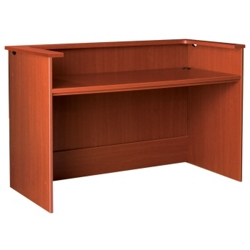 "Circulation Desk Station with Ledge -  60""W, 10031"