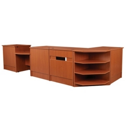 "Complete Circulation Station - 174""W x 66""D, 10046"