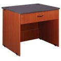 "Circulation Desk with Drawer - 36""W x 30""D, 10047"
