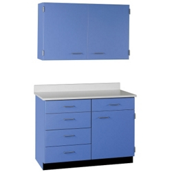 "Five Drawer, Three Door Wall and Base Cabinet Set  - 36""W, 25205"